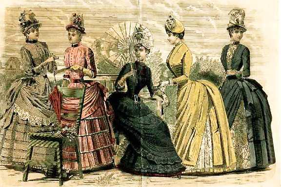 Victorian fashion women england 6